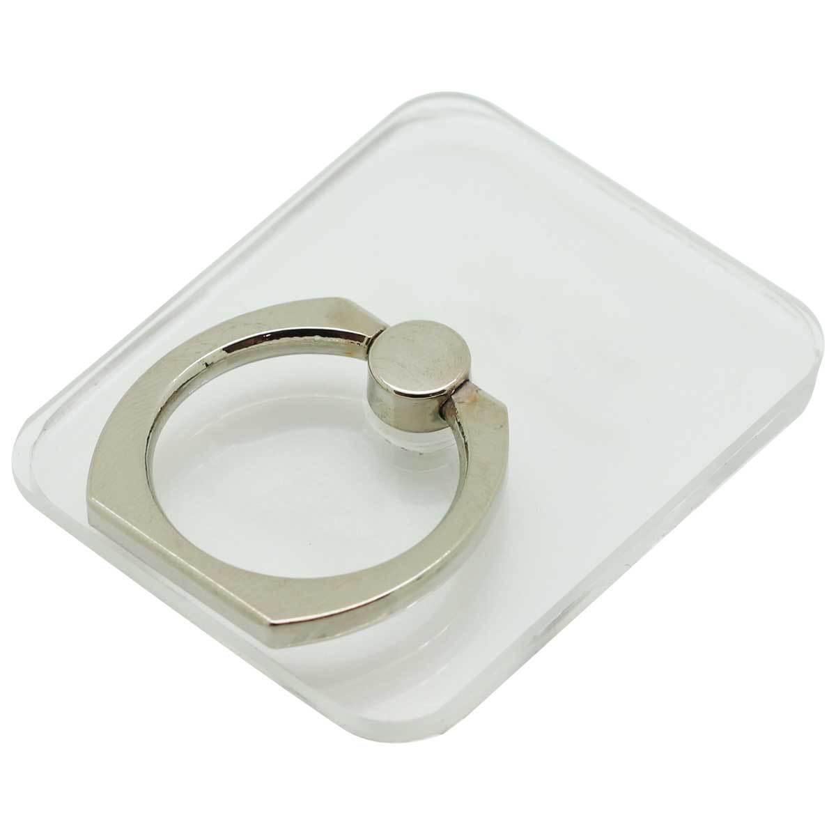 クリアスマートフォンリング 四角型01